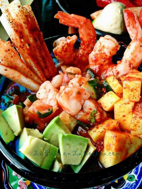 Coctel de Camarones-Mexican Shrimp Cocktail #elpatosalsa #mexicanfood