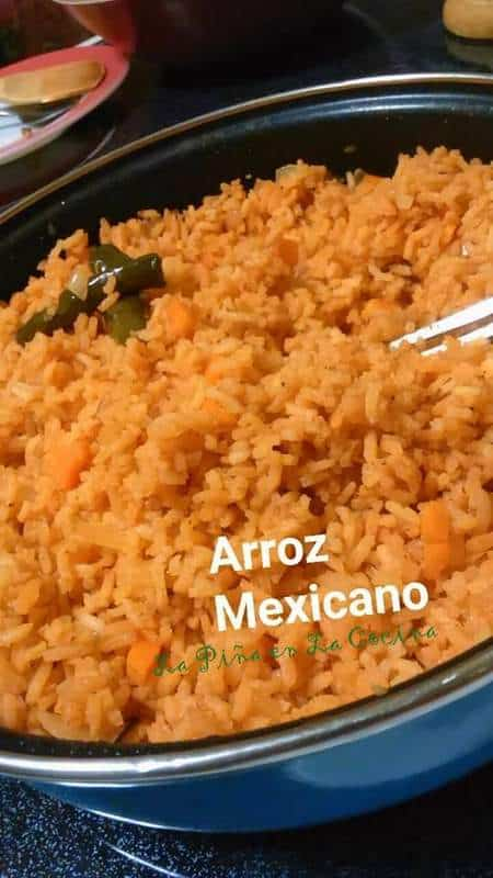 Arroz Mexicano-Mexican Red Rice