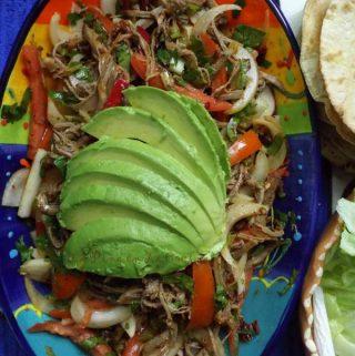 Salpicon de Res~ Shredded Beef Brisket Salad