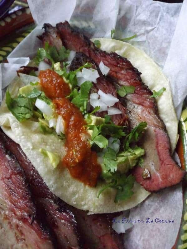 Brisket Tacos~ Tacos Everyday!   La Piña en la Cocina