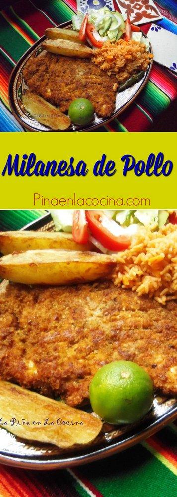 Milanesa de Pollo #milanesa