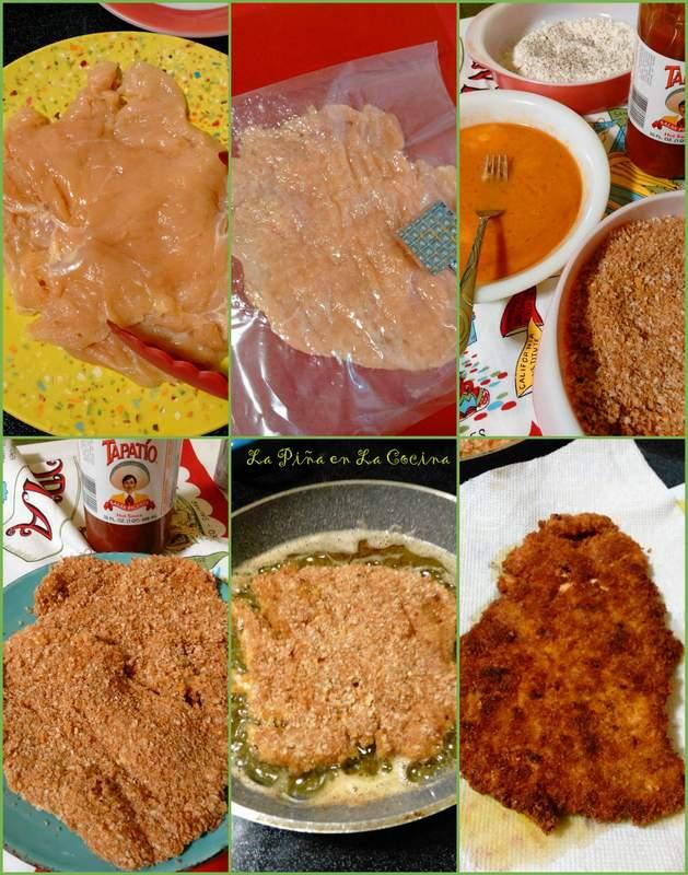 Milanesa de Pollo-Chicken Milanesa