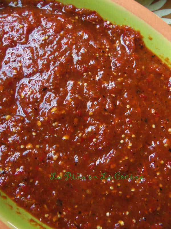 Salsa Taquera-Chile de Arbol Tomatillo