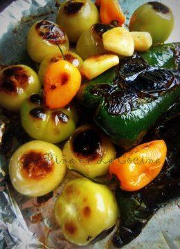 Roasted Tomatillo Habanero Poblano