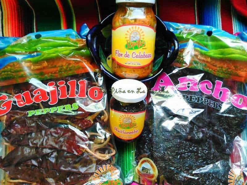 Lupitas Brand, Huitlacoche, Flor de Calabaza, Chiles