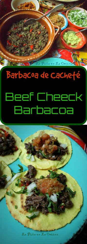 Barbacoa de Cachete-Beef Cheek Barbacoa in the Slow Cooker