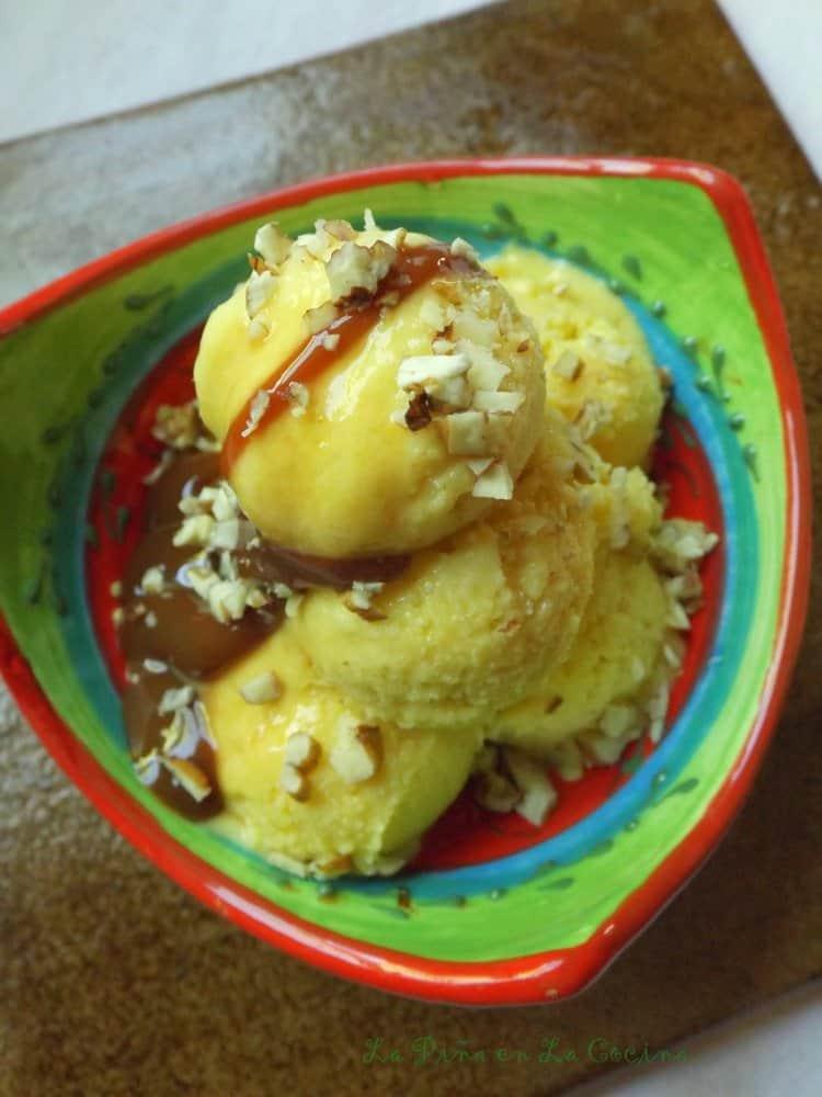 Helado de Mango-Mango Ice Cream
