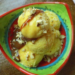Helado de Mango~ Mango Ice Cream