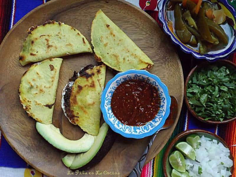 Crispy Comal Quesadillas Filled With Barbacoa and Oxacaca Cheese