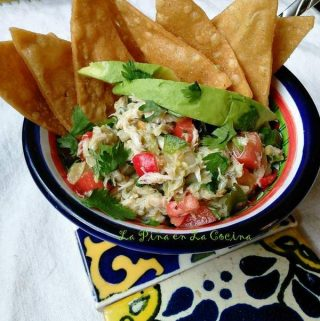Ensalada de Jaiba~Crab and Avocado Salad