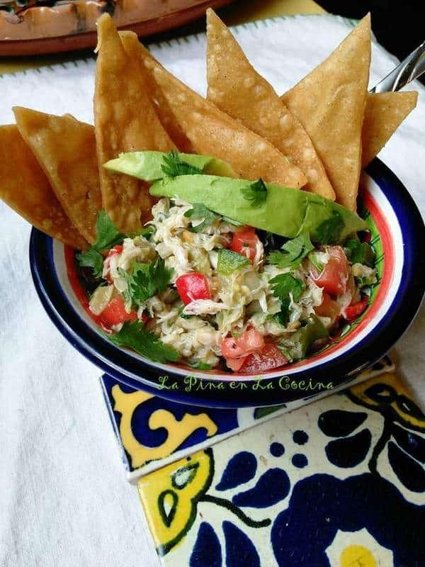 Ensalada de Jaiba-Crab Salad