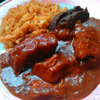 Asado de Boda~ Red Chile Pork