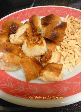 Fried Bread and Almonds-Asado de Boda
