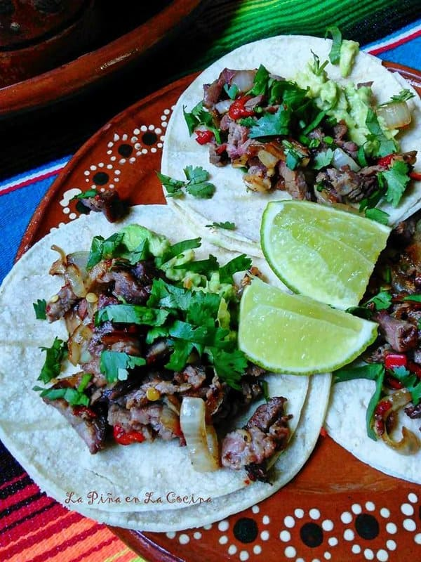 Carne Asada Tacos-Arrachera