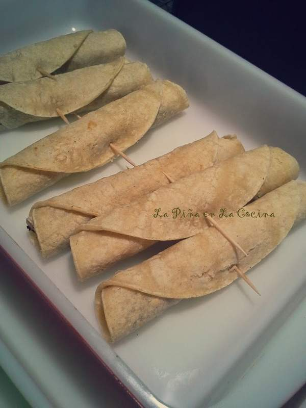 Taquitos de Pollo-Chicken Taquitos