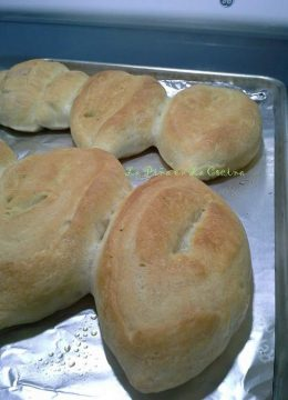 Pan Bolillo-Mexican-Style Bread