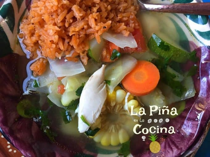Caldo de Pollo-Hearty Mexican Chicken Soup
