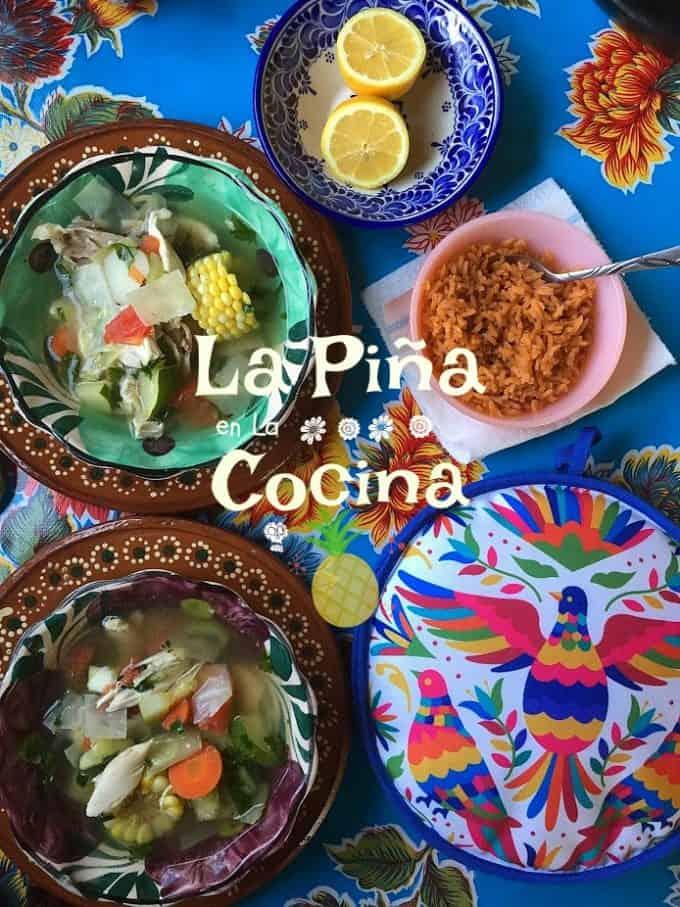 Caldo de Pollo- Hearty Mexican Chicken Soup