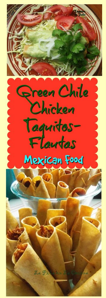 Chicken Taquitos-Flautas