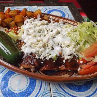 Enchiladas Norteñas de Pollo~ Chicken Enchiladas