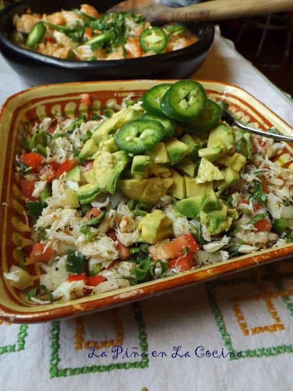 Ensalada de Jaiba-Crab Avocado Salad
