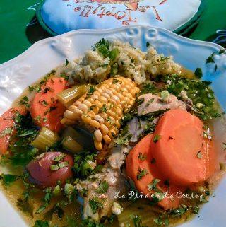 Caldo de Pollo- Hearty Chicken Soup