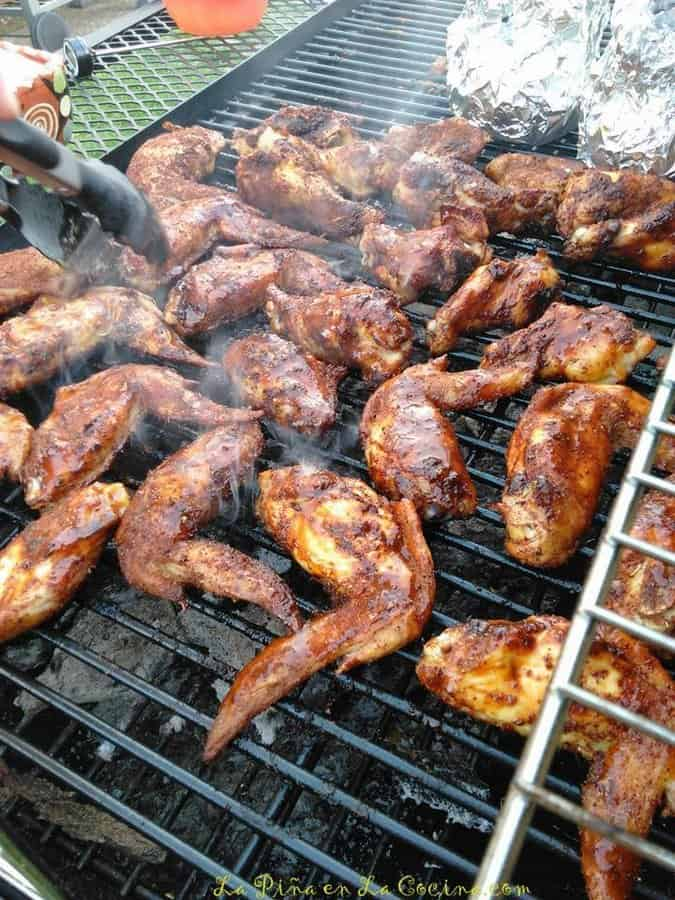 Grilled Tamarind Chile Wings
