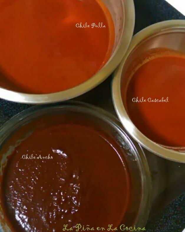 Chile Pulla Adobo Sauce-Dried Chiles #lupitasbrand