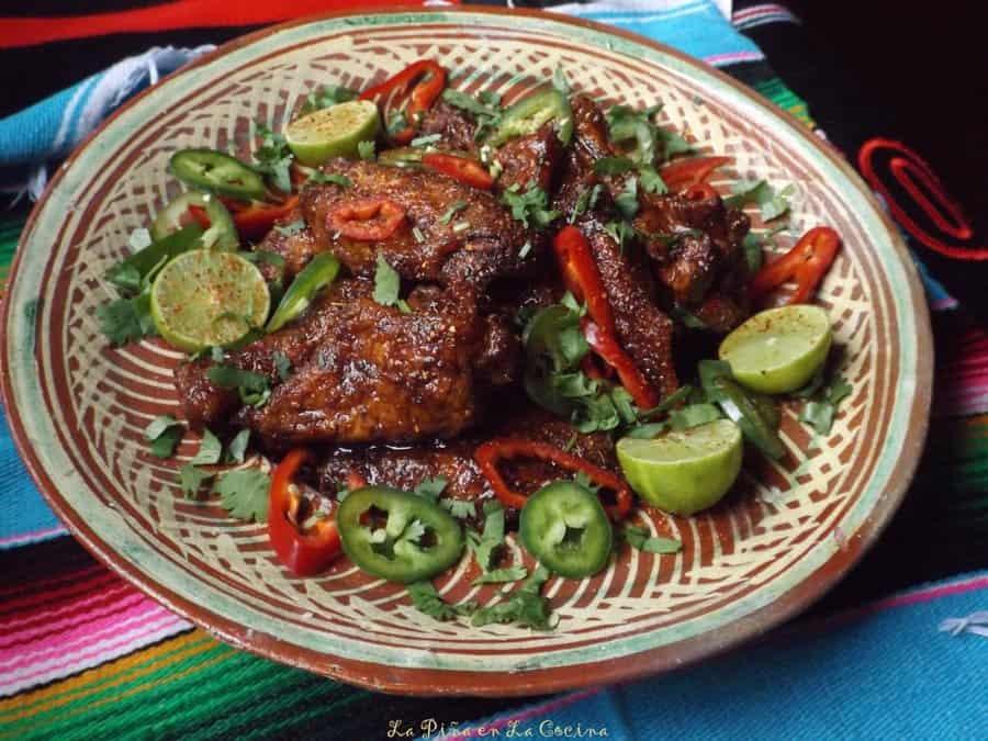 Alitas en Salsa de Tamarindo