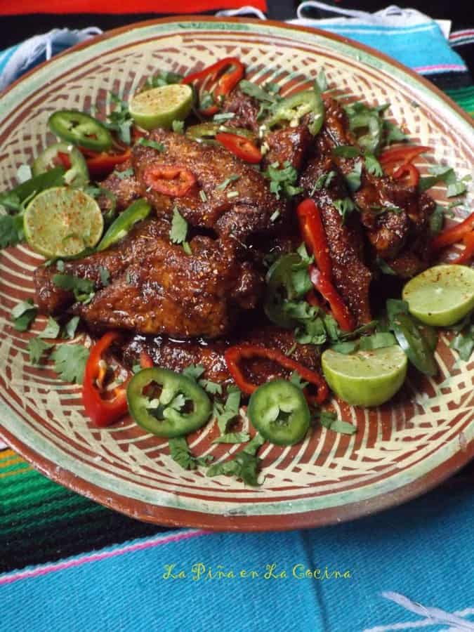 Grilled Tamarindo Chile Wings