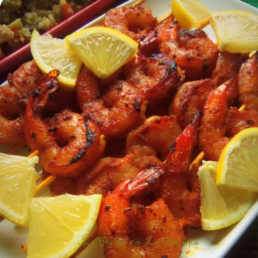 Bloody Mary Chipotle Shrimp