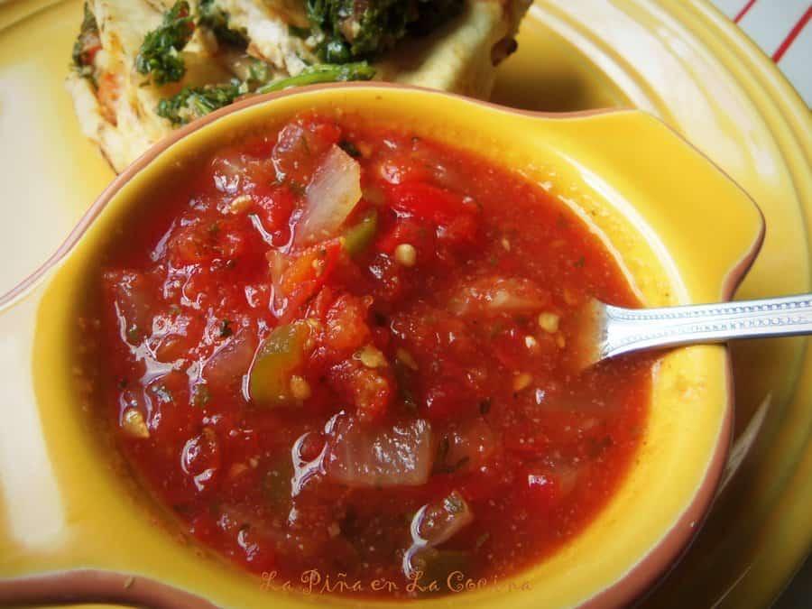 Salsa Picante-Cooked Tomato Salsa