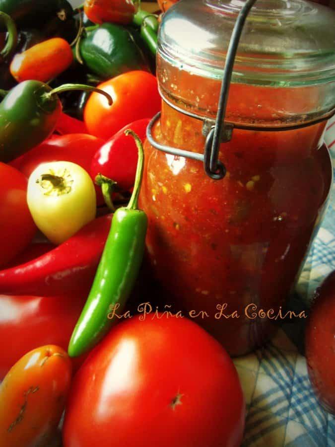 Salsa Picante~ Cooked Tomato Salsa