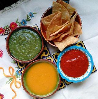 Salsa de Tomate Amarillo Con Habanero (Yellow Tomato Habanero Salsa)
