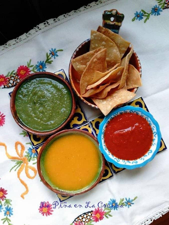 Salsa de Tomate Amarillo Con Habanero