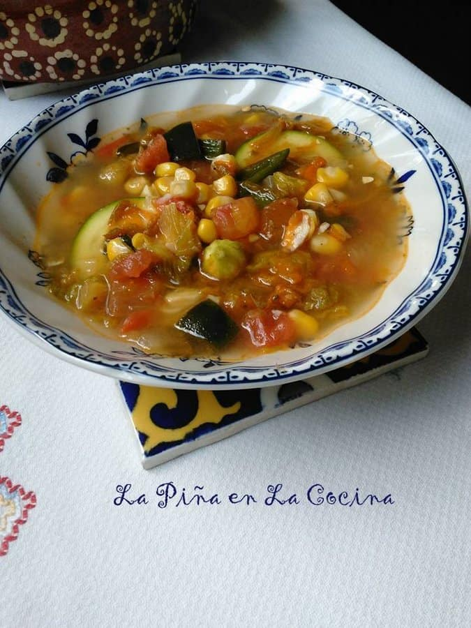 Sopa de Flor de Calabaza