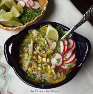 Pozolillo Verde~ Chicken and Corn Soup