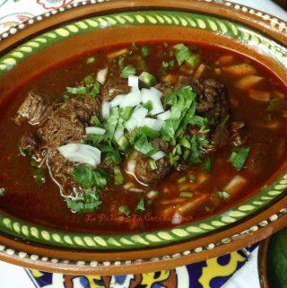 Birria Style Beef Cheek (Birria de Res)