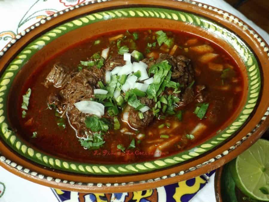 Birria de Res (Birria Style Beef Cheek)