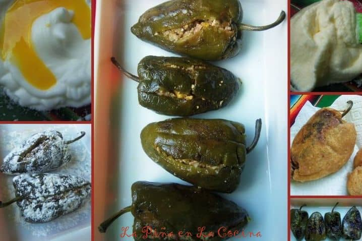 Egg Batter-Chiles Rellenos