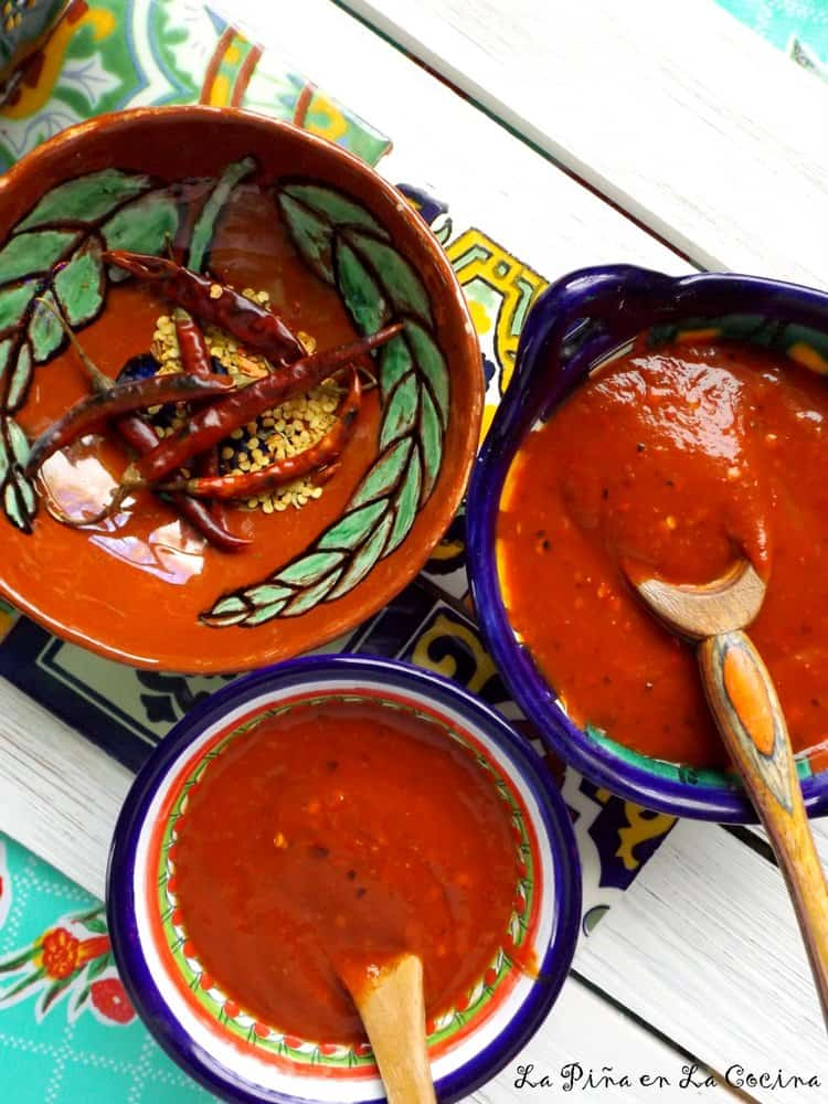 Toasted Chile de Arbol Salsa #salsarecipes #chiledearbol