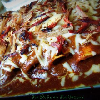 Brisket Enchiladas With Texas-Style Chili Gravy