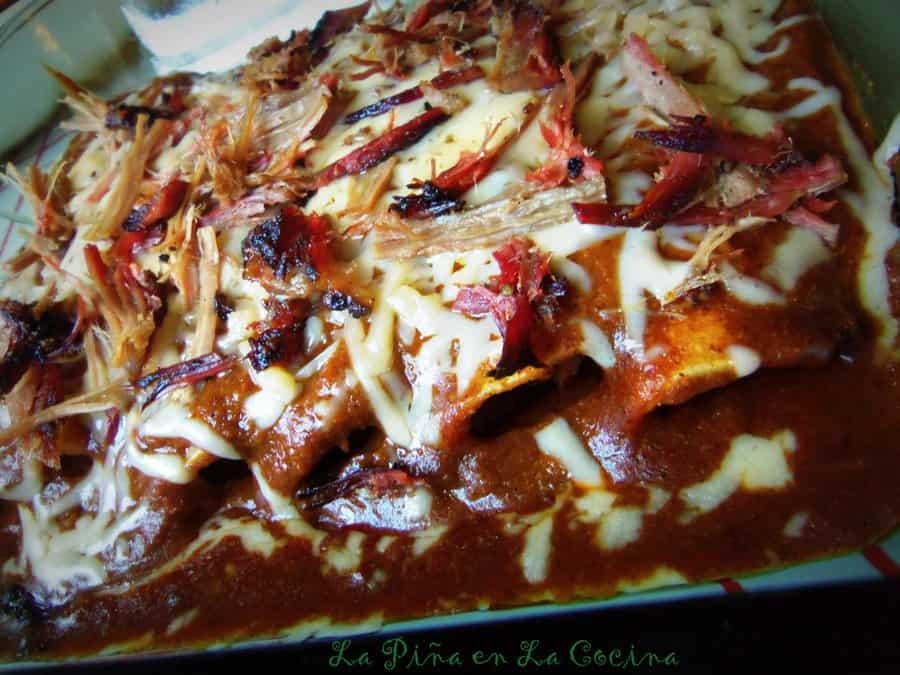 Brisket Enchiladas With Texas-Style Chili Gravy