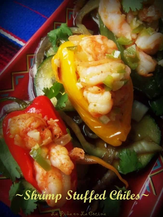 Shrimp Stuffed Chiles