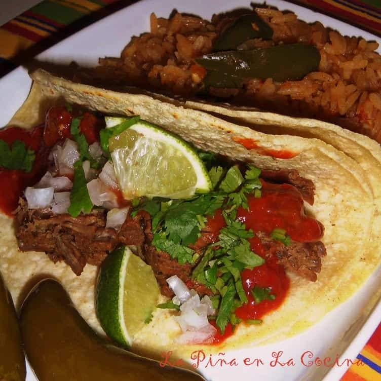 Crockpot Beer Braised Beef Tacos