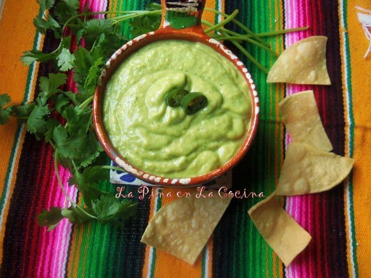 Tomatillo Avocado Salsa-The Green Sauce!