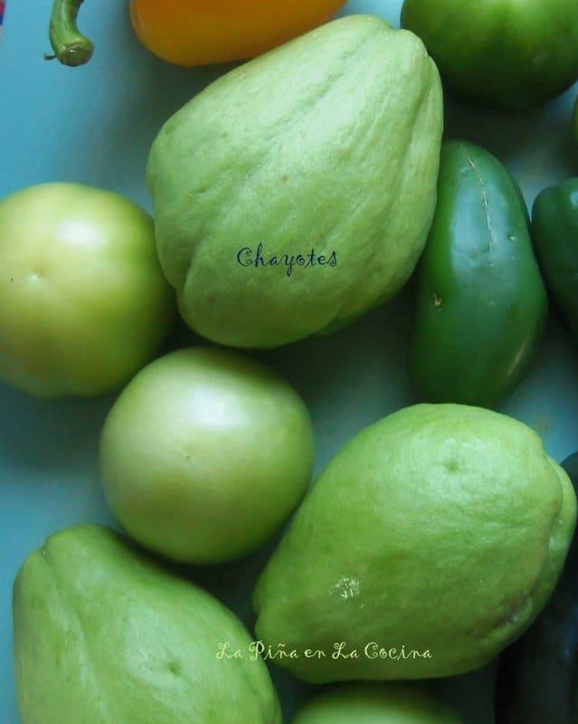 Chayotes-Pear Squash