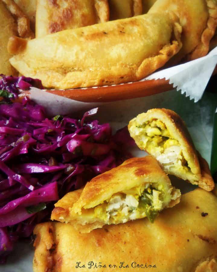 Corn Masa Shrimp Empanadas