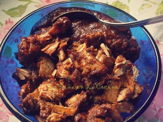 Pork Chile Colorado For Tamales