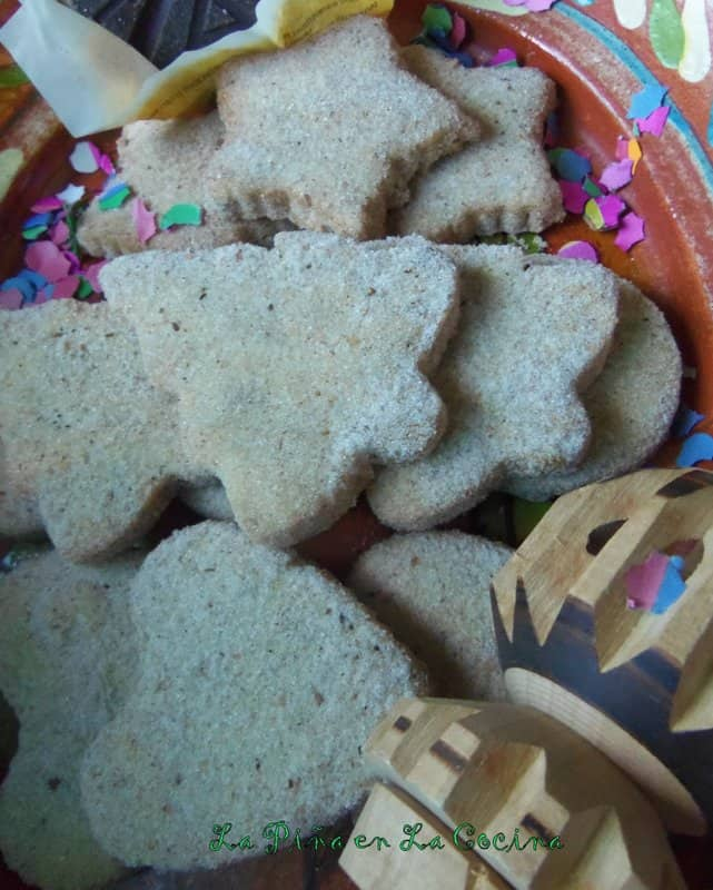 Hojarascas-Traditional Mexican Shortbread Cookies